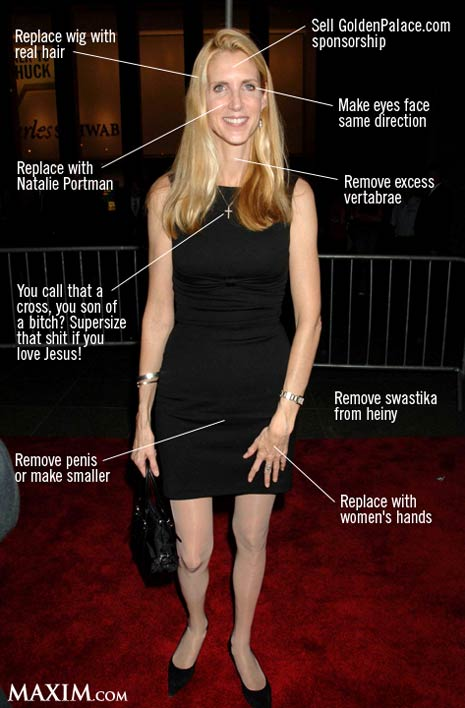 ugly anne coulter