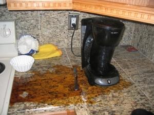 Coffee pot crazy