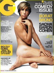 Bruno Naked on GQ