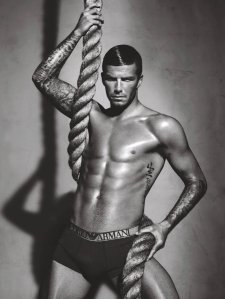 David Beckham Underwear Shot 1