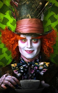 Johnny Depp Mad Hatter New
